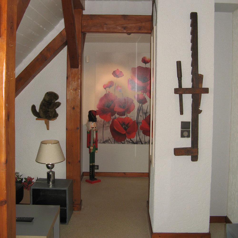 Le côté salon de l'étage